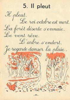 """""""Ancienne méthode de lecture très belle  Le bouquet doré  poésies de saisons +++"""""""