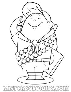 76 best up coloring pages for kids
