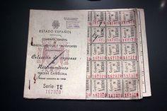 El racionamiento y el hambre estuvieron vigentes en España desde 1939 hasta 1952