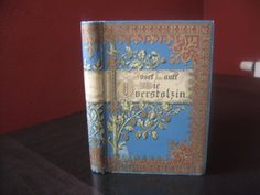 Antique German Gilded Book. $39.00, via Etsy.