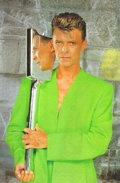 David Bowie [the neon is blinding me!]