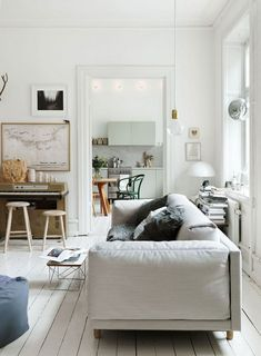 La casa 100% nórdica de una conocida estilista sueca · The nordic home of a well known swedish stylist