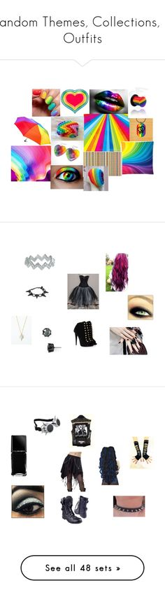 """Random Themes, Collections, & Outfits"" by kitty-styles-horan-biedka ❤ liked on Polyvore featuring art, beauty, Zoe & Morgan, Giuseppe Zanotti, Juicy Couture, Manic Panic NYC, Illamasqua, My Little Pony, Hot Topic and Icepinkim"