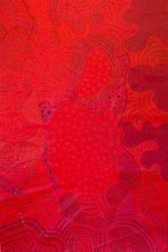 Linda Stevens -Tjungu Palya AC - APY Lands http://www.mccullochandmcculloch.com.au/art/current-works/640/