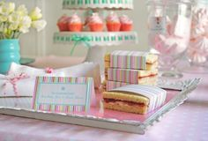 birthday-party-themes-tea-sandwiches-paper-wrappers