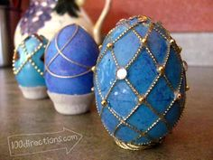Very cool faux Faberge egg tutorial.