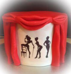 Torte Theater Striptease Burlesque Cake Theater Striptease Burlesque