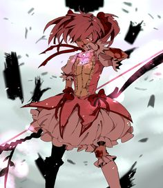Madoka's so adorable <3 (even thought I haven't seen her become a magical girl yet.)