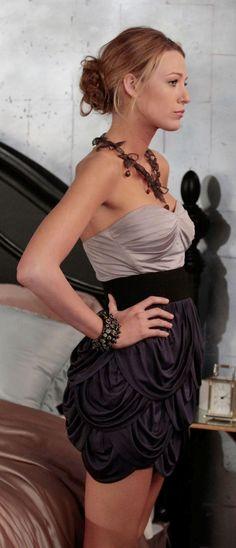 Last Tango, Then Paris   Serena van der Woodsen style