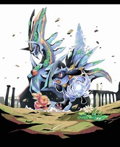 pokemon mystery dungeon...my gosh, i hated this battle, but it felt so good to beat him since it's really tough