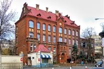 Poland, Lodz,Szpital MSWiA.