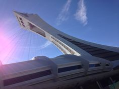 """See 1221 photos and 44 tips from 7123 visitors to Stade Olympique. """"Go up the tower, but only if the weather is decent otherwise you won't see much. Tower, Places, Lathe, Towers, Lugares, Building"""