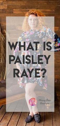 What is Paisley Raye? #paisleyraye