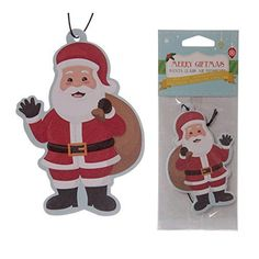 Santa Shaped Spiced Apple-Duft Lufterfrischer Puckator http://www.amazon.de/dp/B00O2FJLCC/?m=A105NTY4TSU5OS