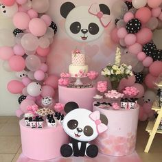 The Amazing Balloon Decorator in Lucknow Events Bucket Panda Themed Party, Panda Birthday Party, Panda Party, Bear Party, 1st Birthday Parties, Baby Birthday Themes, Baby Shower Niño, Baby Shower Themes, Baby Shower Decorations