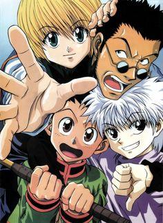 Yoshihiro Togashi, Nippon Animation, Hunter x Hunter, Kurapika , Leorio