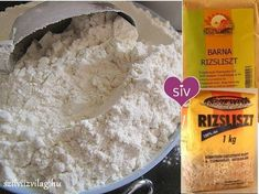 Főzelékek, levesek sűrítése rizsliszttel