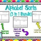 $Alphabet Sorts - Uppercase, Lowercase, and Mixed! - Great activity to have your kids differentiate between letter formations ...
