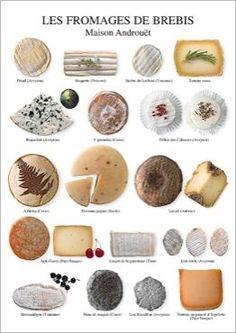 Les fromages de brebis, Maison Androuët - maître fromager depuis 1909 Atelier Nouvelles Images