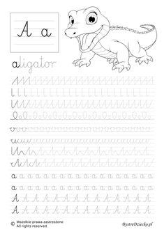 Cursive Handwriting, Handwriting Worksheets, Pre Writing, Writing Skills, Art Drawings For Kids, Cute Drawings, Capital Cursive, Sewing Projects For Kids, Baby Education