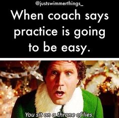 "Exactly ""easy"" in my coaches language is a 200 warm up 10 sets of IM, 20,25's on the 30 and then a 200 cool down!!!!! Brennan you know what I'm talking about"