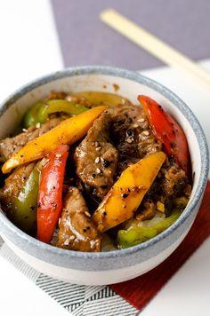 Black Pepper Steak - Omnivore's Cookbook