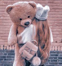 Teddy Girl, Cute Girl Poses, Girl Photo Poses, Girl Photos, Cute Girls, Beautiful Girl Drawing, Cute Girl Drawing, Cartoon Girl Images, Cute Cartoon Girl