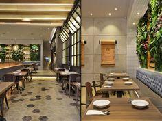 Дизайнерская мебель в дизайне кафе