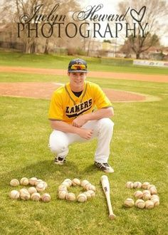 baseball senior portrait ideas - Google Search