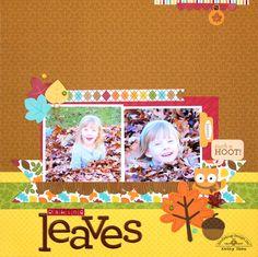 Layout: *** Doodlebug Design *** Raking Leaves