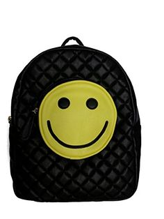 Betsey Johnson Happy Smiley Face Backpack Tote Handbag for Kids Girls Boys Teens Adults High School Supply List, High School Supplies, Back To School List, Back To School Sales, Happy Smiley Face, Kids Girls, Boys, Tote Backpack, Tote Handbags