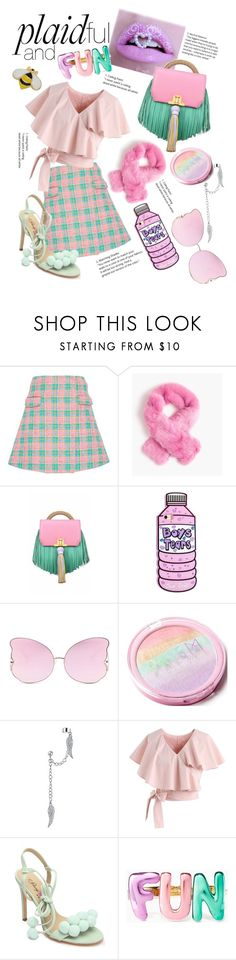 """Plaidful and Fun"" by ailatanami ❤ liked on Polyvore featuring Emilio De La Morena, J.Crew, The Volon, Matthew Williamson, Bling Jewelry, Chicwish, Penny Loves Kenny, Kate Spade and Lord & Taylor"