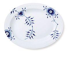 Royal Copenhagen Blue Fluted Mega Dish 36,5 cm