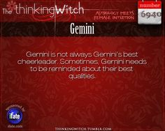Gemini 6940: Click on The Thinking Witch for new facts about Gemini...and click here for the web's best horoscopes!