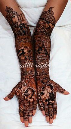 Mehndi Designs Feet, Mehndi Designs For Girls, Mehndi Design Photos, Unique Mehndi Designs, Dulhan Mehndi Designs, Mehndi Images, Mehendi, Mehandi Henna, Henna Tattoos