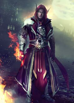 VYRANDiL - World of Warcraft (OC Commission) by Eddy-Shinjuku.deviantart.com on @DeviantArt