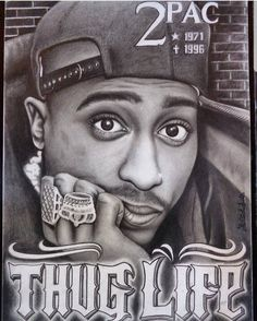 2PAC POSTER RAPPER LEGEND MUSIC TUPAC PRINT SINGER USA  A3 A4 SIZE