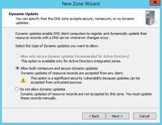How to configure forward lookup zone in Server 2012 R2
