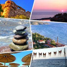 I am dreaming of Molyvos village, Lesvos Island, Greece