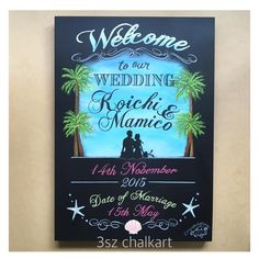 Happy Wedding #chalkart #blackboard #blackboardart #Wedding #bridal #3szchalkartWedding #黒板 #黒板アート #ウェルカムアイテム #チョークアート #結婚式準備 #結婚準備 #結婚式アイテム #ウェルカムボード #ウェディングアイテム #プレ花嫁 #大人可愛い#ハワイで挙式