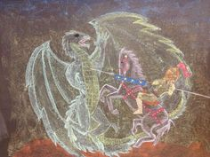 The Waldorf School of San Diego Grade 2 studying St. George and the Dragon