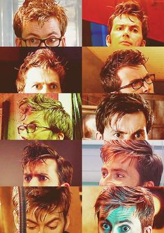 If David Tennant ever goes bald, I will die.