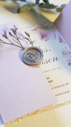 Bespoke Wedding Invitations, Wedding Stationery, Marriage, Valentines Day Weddings, Weddings, Mariage, Wedding, Wedding Invitations, Casamento