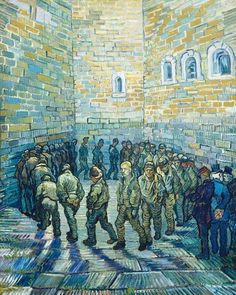 Prisoners exercising by Van Gogh