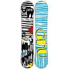 Gnu B-MINI BTX Girls Snowboard from skis.com