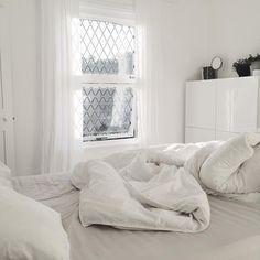 white bedroom /  Allspice Design