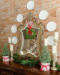 No no no...LOL!  I promise I am not overlooking Halloween or Thanksgiving but just sprayed some room spray that smells like a fresh cut Christmas tree so it got me in the Christmas spirit. Admiring this pic I pinned last year!