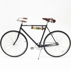 St-Germain #Bicycle | I have almost the same handles, seat and bag as this, I just need a bottle of St-Germain