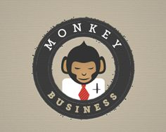 Another fun design that shows a monkey prepared for work. The monkey looks a little subservient, suggesting that he is there to help you with anything you need.