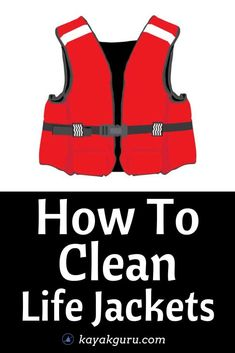 Keep your life jacket clean! This helps it last a lot longer. Read our guide to washing and cleaning your PFD and look after it properly Kayak Fishing Tips, Kayaking Tips, Fishing 101, Mildew Stains, Remove Stains, Kayak For Beginners, Angler Kayak, Kayak Accessories, Clean Life